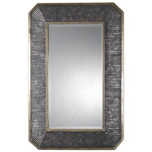 Uttermost Mirrors Isaiah Ribbed Bronze Mirror