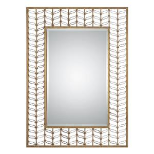 Uttermost Mirrors Phyllida Gold Mirror