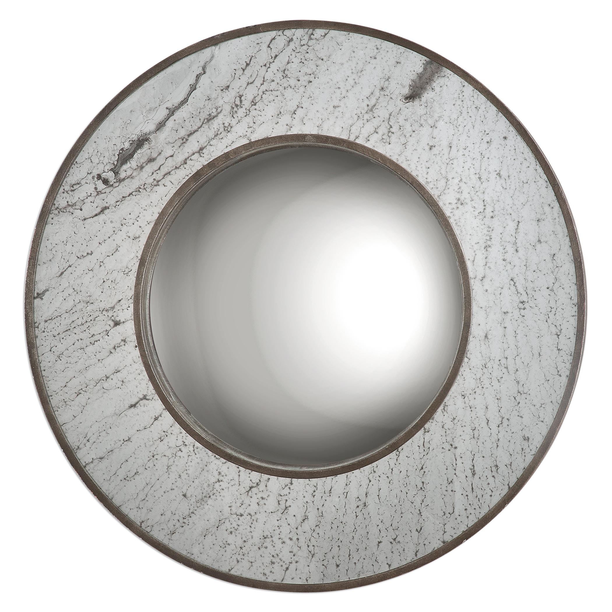 Uttermost Mirrors Lannion Round Mirror - Item Number: 09098