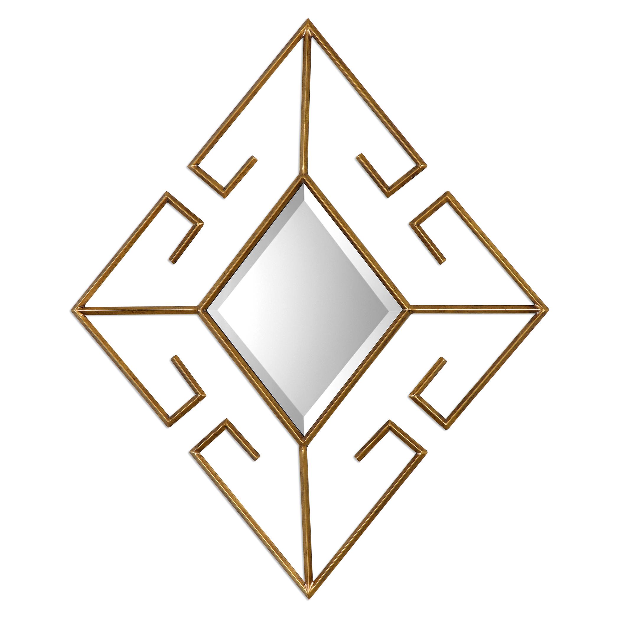 Uttermost Mirrors Gaetano Diamond Mirror - Item Number: 09099