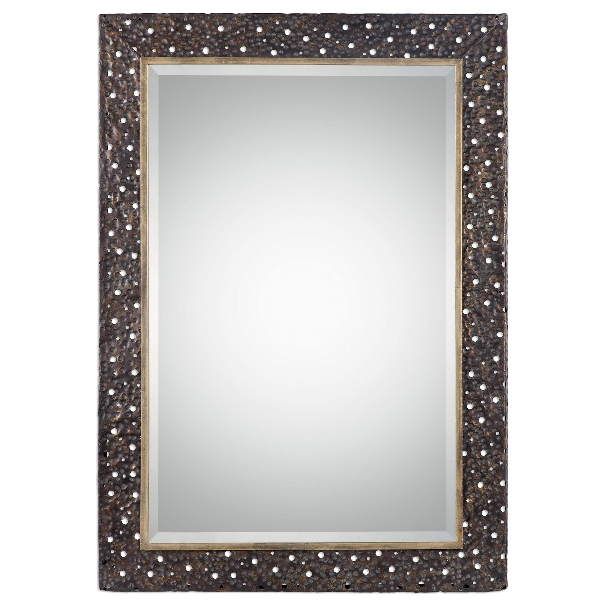Uttermost Mirrors Khalil Dark Bronze Mirror - Item Number: 09101