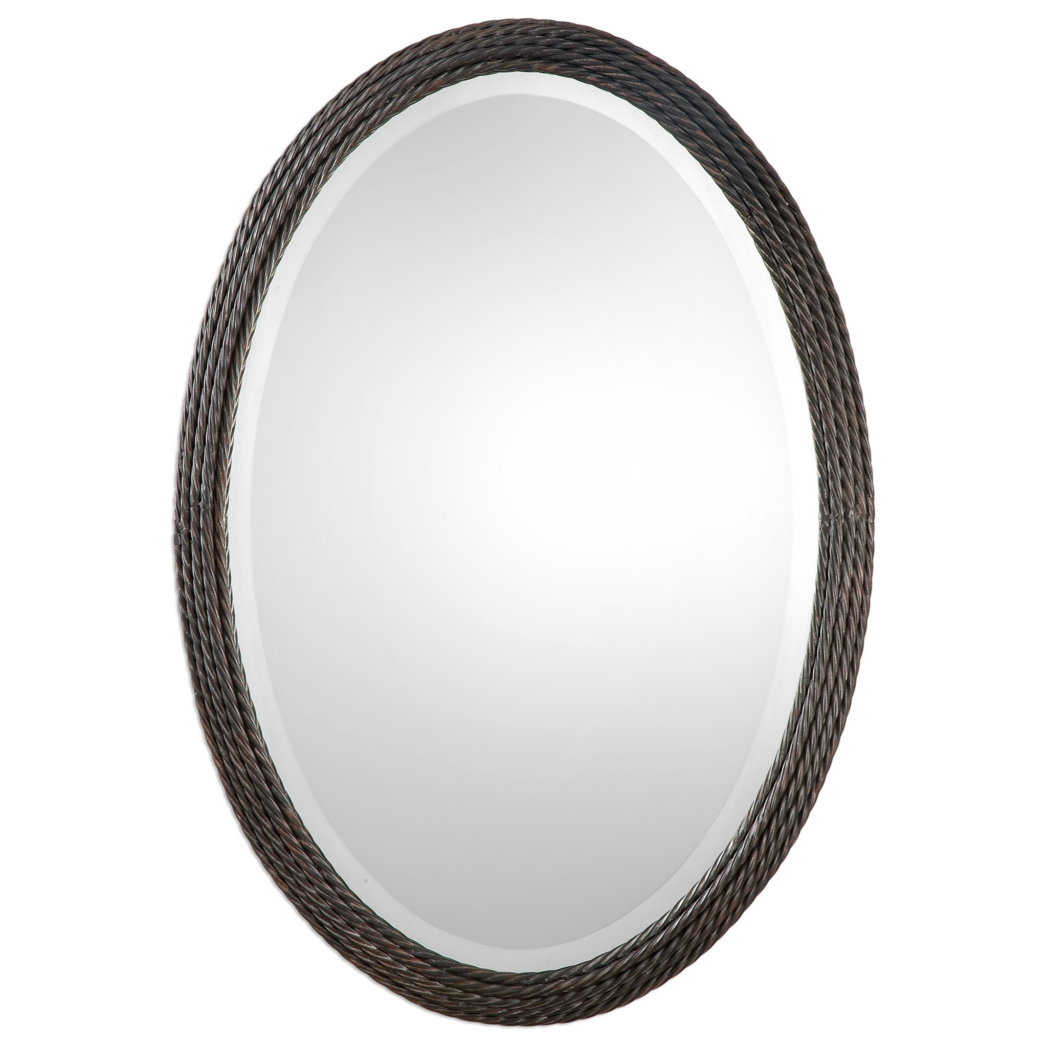 Uttermost Mirrors Sabana Oval Mirror - Item Number: 09102
