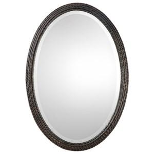 Uttermost Mirrors Sabana Oval Mirror