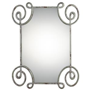 Uttermost Mirrors Rennes Distressed Iron Mirror