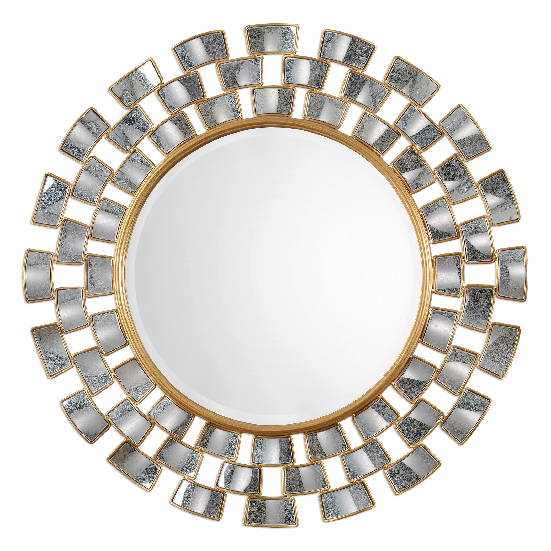 Uttermost Mirrors Rachida Round Mirror - Item Number: 09107