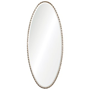 Uttermost Mirrors  Vicenza Elongated Oval Mirror