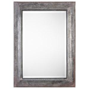 Uttermost Mirrors  Agathon Aged Stone Gray Mirror