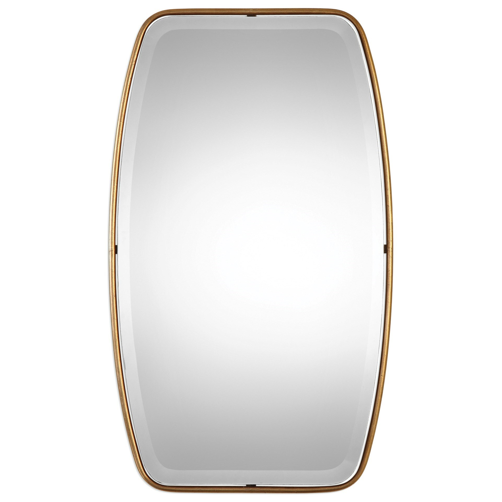 Uttermost Mirrors  Canillo Antiqued Gold Mirror - Item Number: 09145