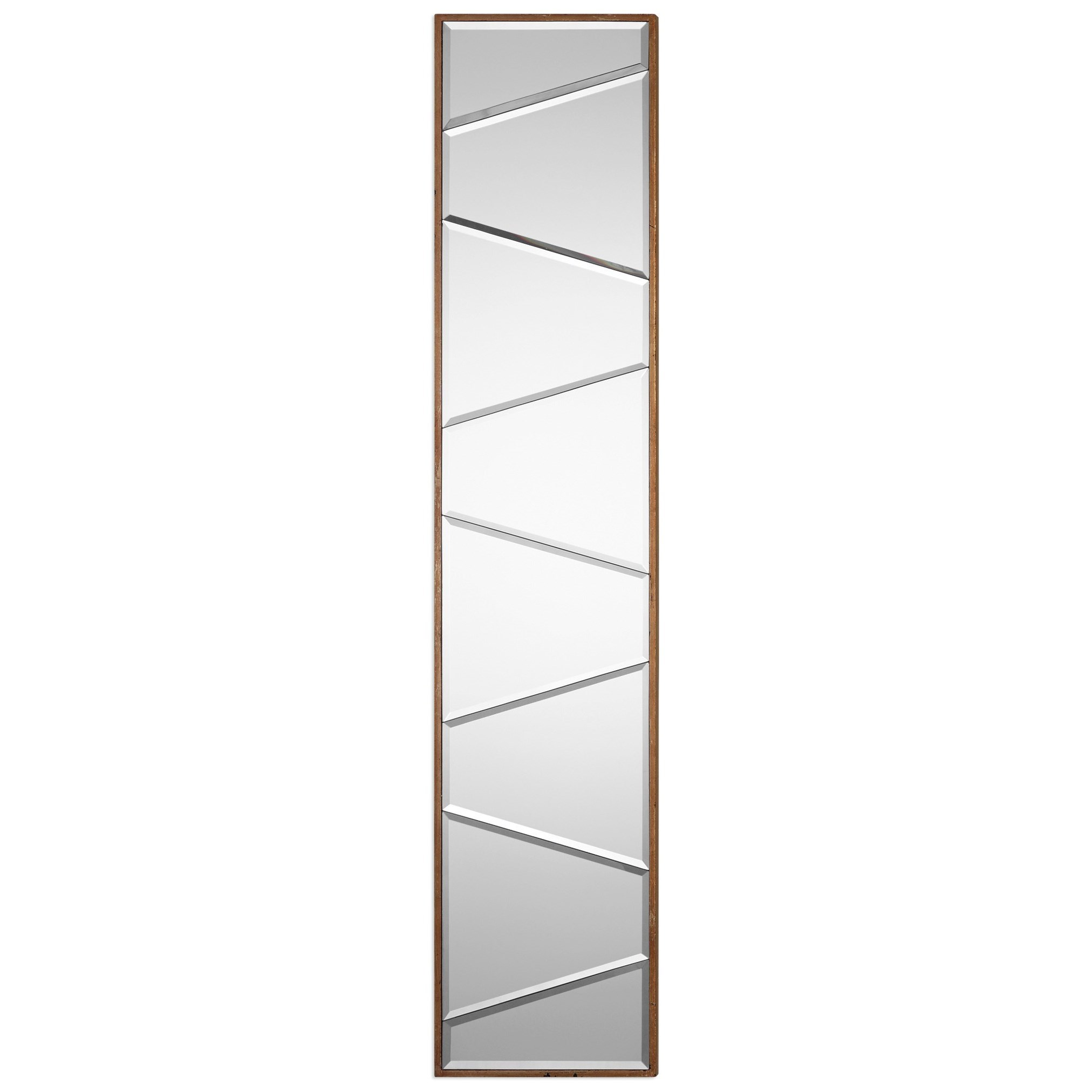 Uttermost Mirrors  Zodia Narrow Beveled Mirror - Item Number: 09146