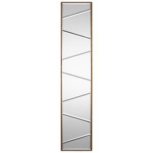 Uttermost Mirrors  Zodia Narrow Beveled Mirror