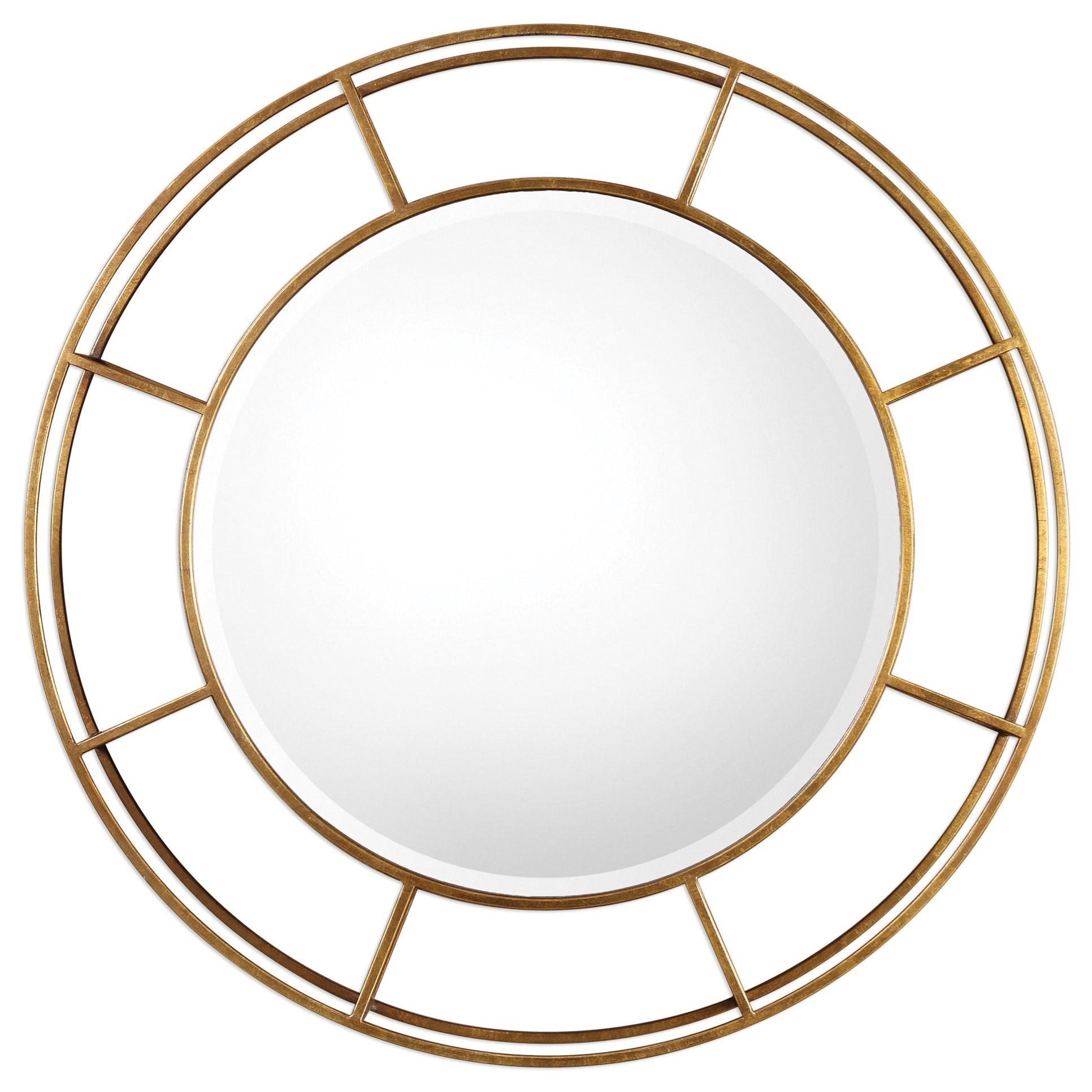 Uttermost Mirrors  Salleron Round Mirror - Item Number: 09147