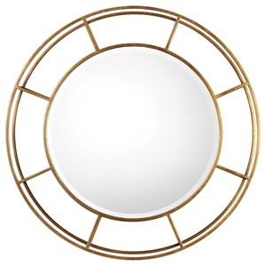 Uttermost Mirrors  Salleron Round Mirror
