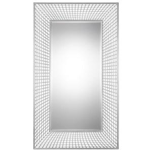 Uttermost Mirrors  Spindel Oversized Silver Mirror