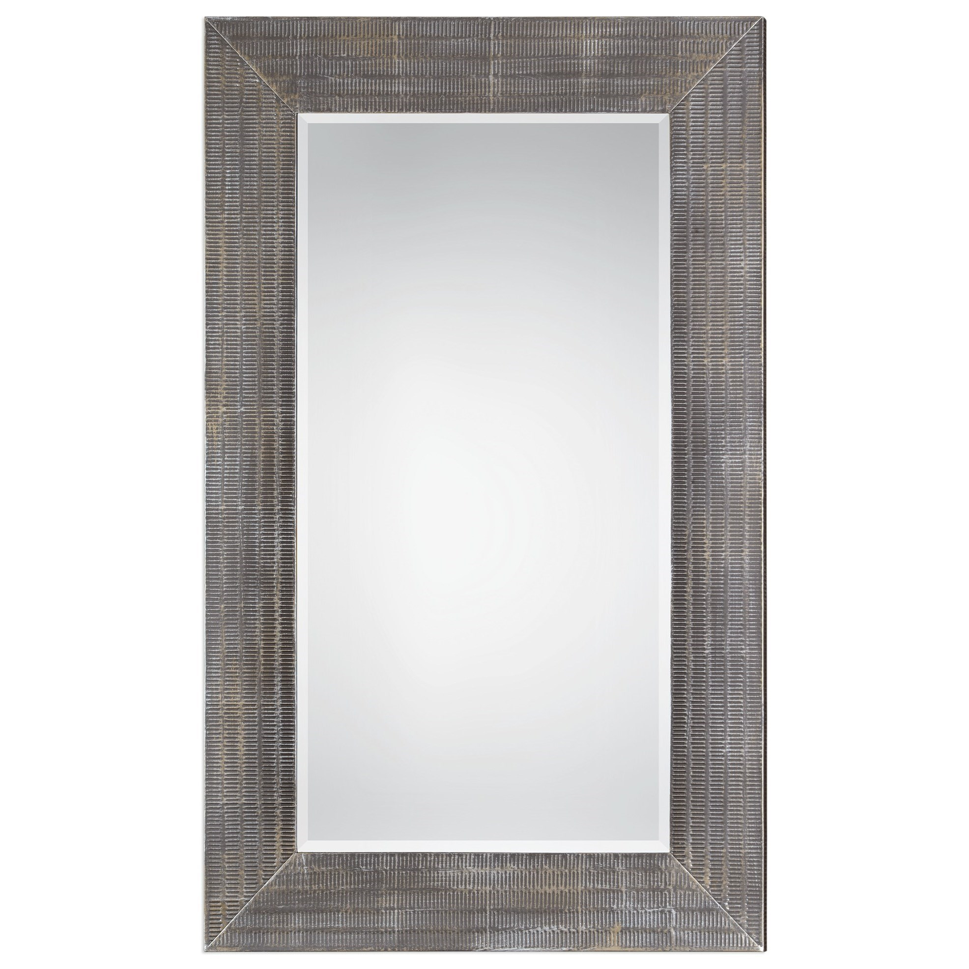 Uttermost Mirrors  Frazer Stone Gray Mirror - Item Number: 09162