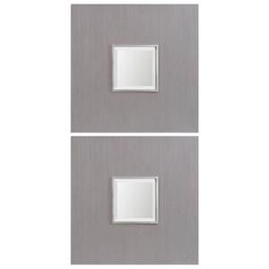 Uttermost Mirrors Scotten Squares (Set of 2)