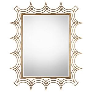 Uttermost Mirrors  Kiowa Gold Mirror