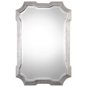 Uttermost Mirrors  Halima Silver Step Mirror