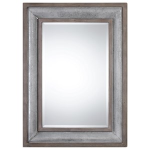 Uttermost Mirrors  Selden Steel Mirror
