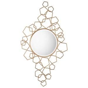 Uttermost Mirrors Soraya Modern Gold Mirror
