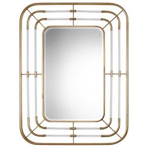Uttermost Mirrors Bayo Gold Mirror
