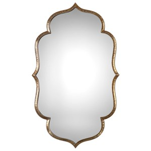 Uttermost Mirrors Zina Gold Mirror