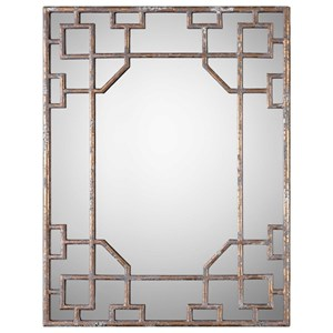 Uttermost Mirrors Genji Antique Mirror