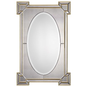 Uttermost Mirrors Matilda Antiqued Gold Mirror