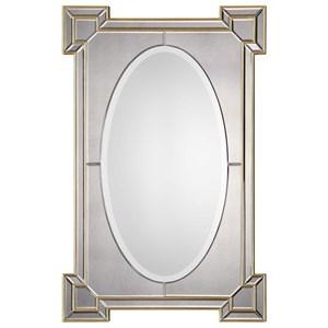 Uttermost Mirrors Matilda Antiqued Gold Mirror
