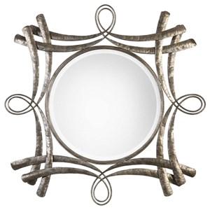 Uttermost Mirrors Olivieri Aged Bronze Mirror