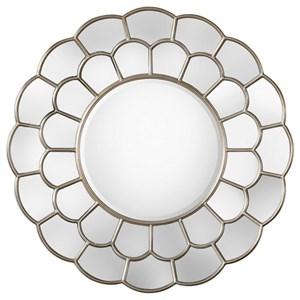 Uttermost Mirrors Dahlia Silver Mirror
