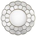 Uttermost Mirrors - Round Dahlia Silver Mirror - Item Number: 09217
