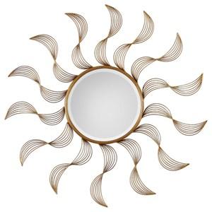 Uttermost Mirrors Jeneil Sun Mirror