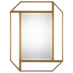 Uttermost Mirrors Mendez Antiqued Gold Mirror