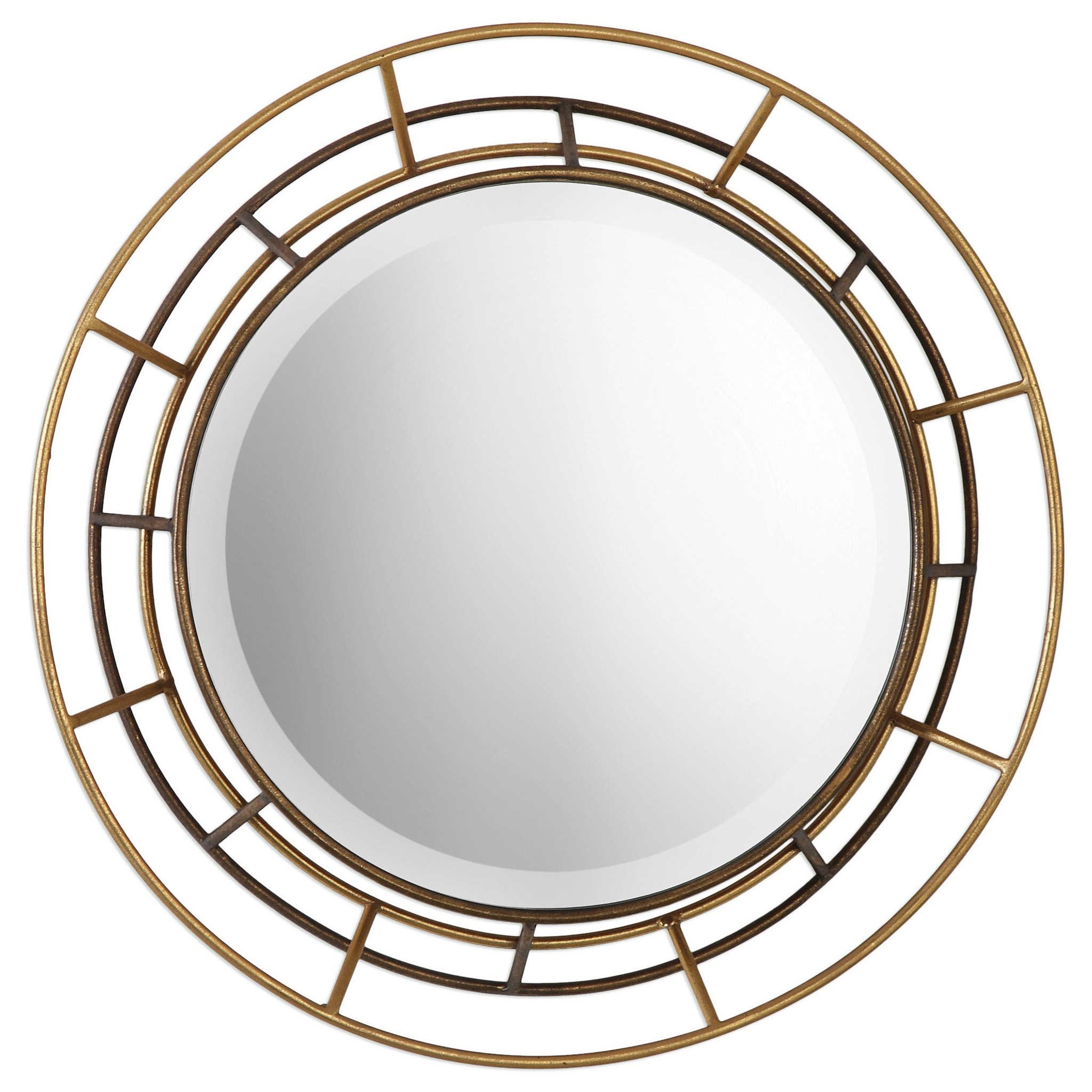 uttermost mirrors desario round mirrors