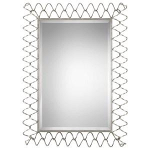 Uttermost Mirrors Scipio Iron Coil Mirror