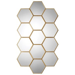 Uttermost Mirrors Jarah Honeycomb Mirror