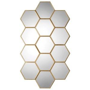 Uttermost Mirrors Jarah Honeycomb Mirror