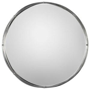 Uttermost Mirrors Ohmer Round Metal Coils Mirror