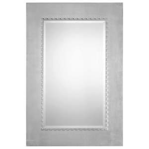 Uttermost Mirrors Marlon Large Silver Mirror