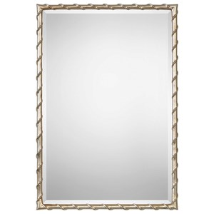 Uttermost Mirrors Laden Silver Mirror