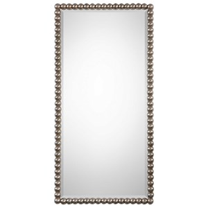 Uttermost Mirrors Serna Antiqued Silver Mirror