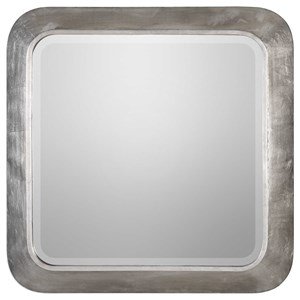 Verea Metallic Silver Mirror