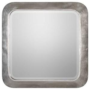 Uttermost Mirrors Verea Metallic Silver Mirror