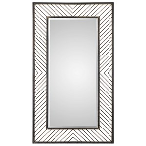 Uttermost Mirrors Karel Chevron Mirror