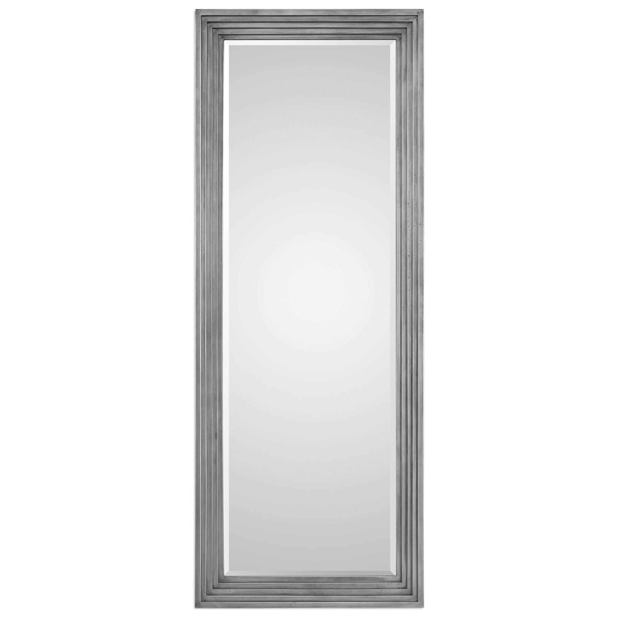 Dario Silver Leaner Mirror