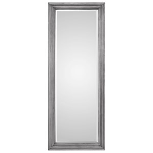 Dario Silver Leaner Mirror