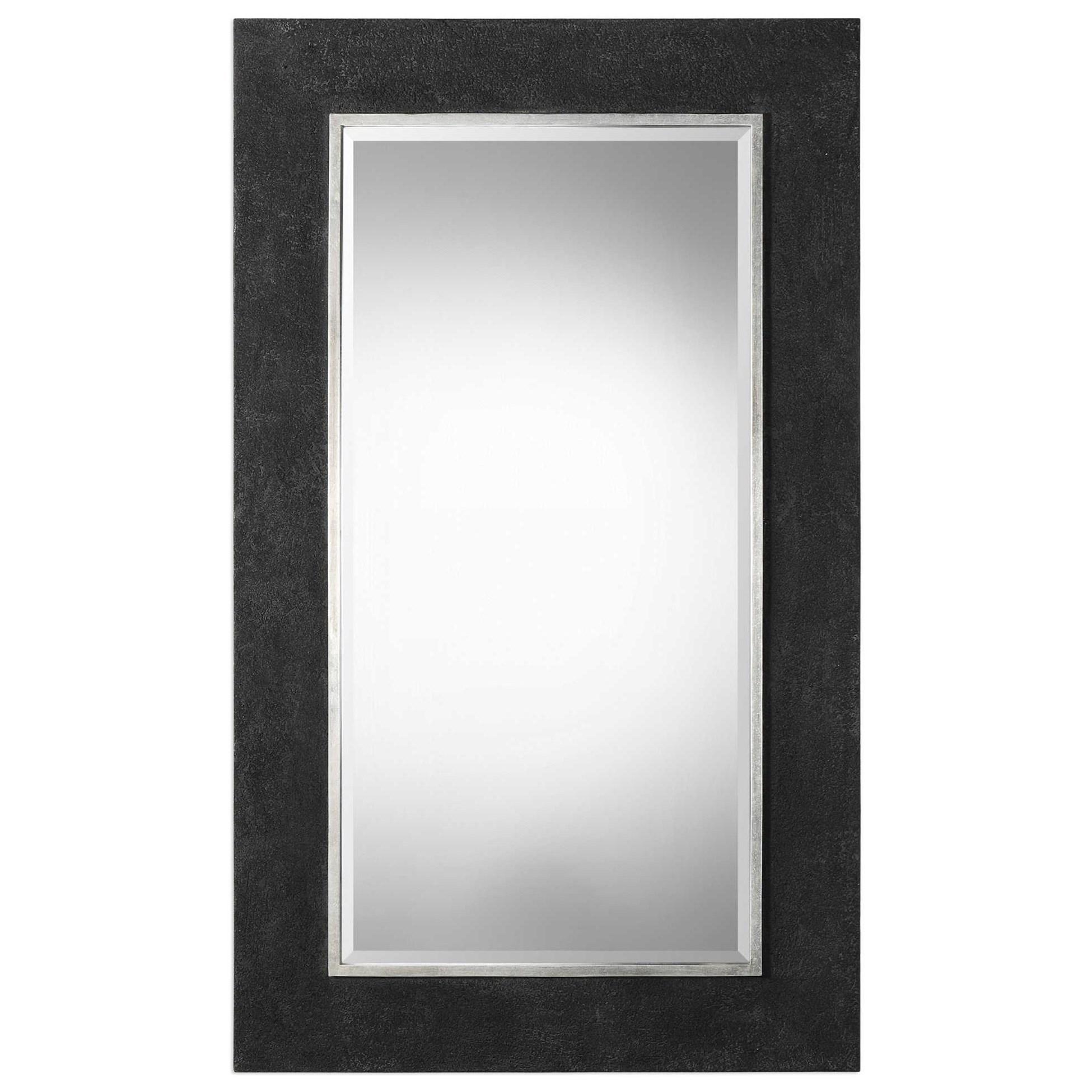 Ferran Textured Black Mirror