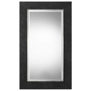 Uttermost Mirrors Ferran Textured Black Mirror
