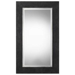 Uttermost Mirrors Ferran Textured Black Mirror