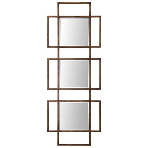 Uttermost Mirrors Tribus Rust Bronze Mirror